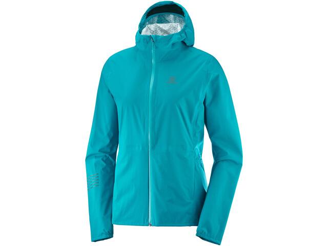 Salomon Lightning WP Jacket Women, tile blue